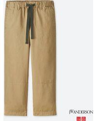 Uniqlo - Men Jwa Relaxed Chino Flat-front Pants - Lyst