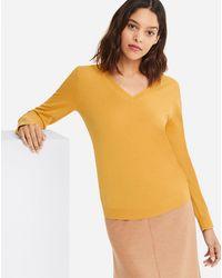 Uniqlo - Women Cashmere V-neck Sweater - Lyst