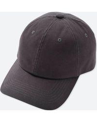 Uniqlo - Cotton Twill Cap - Lyst