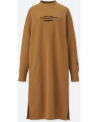 Uniqlo - Women Celebrate Mickey Sweat Dress - Lyst