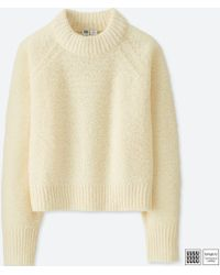 Uniqlo - Women U Boucle Crewneck Sweater - Lyst