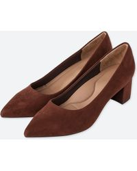 Uniqlo - Chunky Heeled Shoes - Lyst