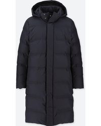 Uniqlo - Seamless Down Hooded Long Coat - Lyst