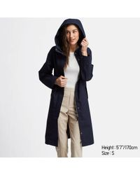 1911b4c34f8c Uniqlo Women Wool Ribbed Knitted Coat in Gray - Lyst