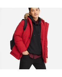 Uniqlo - Men Non-quilt Down Jacket - Lyst