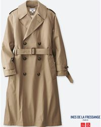 Uniqlo - Women Trench Coat (ines De La Fressange) - Lyst