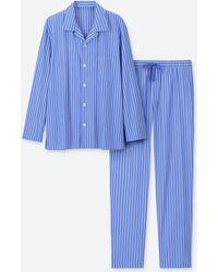 Uniqlo - Striped Long Sleeved Pyjamas - Lyst