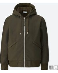 Uniqlo - Men U Military Hooded Blouson - Lyst