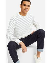Uniqlo - Men Heattech Stretch Fleece Crew Neck Long-sleeve T-shirt - Lyst