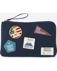Uniqlo - Mickey Travels Pouch - Lyst