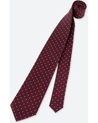 Uniqlo - Men Dot-print Silk Tie - Lyst