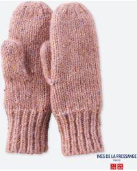 Uniqlo - Women Knitted Mittens (ines De La Fressange) - Lyst