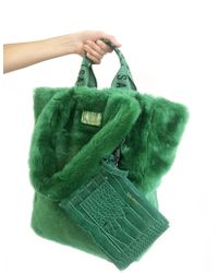 Unreal Fur - Tzippy Tote - Lyst