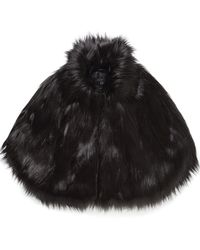 Unreal Fur - Camille Cape - Lyst