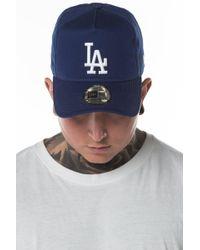 KTZ - La Dodgers Washed A-frame 9forty Cap - Lyst