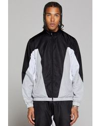 Good For Nothing - Track Jacket With Contrast Panels In Black - Lyst