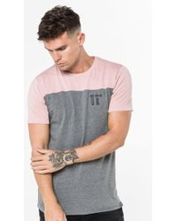 11 Degrees - Block T-shirt - Lyst