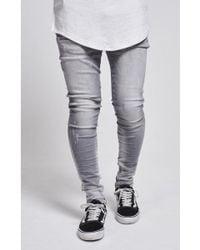 SIKSILK - Abrasion Hareem Jeans - Lyst