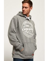 7ae4da0608cc0c Lyst - ASOS Sleeveless Hoodie With World Gym Print in Gray for Men