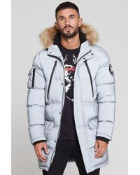 Good For Nothing - Glacier Reflective Long Parka - Lyst