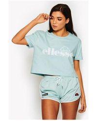 Ellesse - Women's Secca Crop T-shirt - Lyst