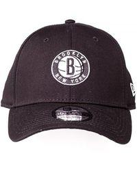 1009a4d28 Lyst - Ktz Brooklyn Nets Reflective Original Fit 9fifty Snapback Cap ...