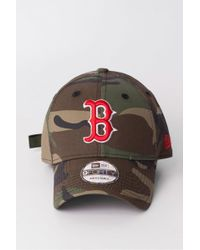 KTZ - Boston Red Sox Camo Team 9forty Cap - Lyst