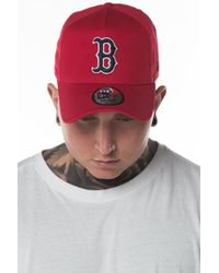 KTZ - Boston Red Sox Washed A-frame 9forty Cap - Lyst