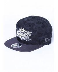 fedb33f72f3 KTZ - Nba Cleveland Cavaliers Original Fit 9fifty Snapback Cap - Lyst