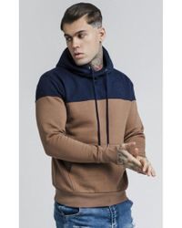 SIKSILK - Cut And Sew Overhead Hoodie - Lyst