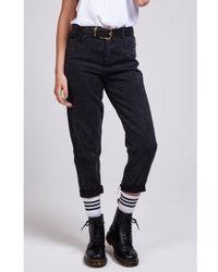 SIKSILK - Women's Mom Fit Jeans - Lyst