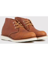 Red Wing - 3140 Heritage Work Chukka - Lyst