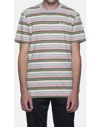 Huf - Off Shore Stripe T-shirt - Lyst