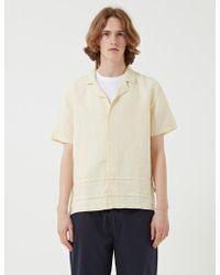 Folk   Horizon Short Sleeve Shirt   Lyst