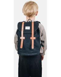 Sandqvist - Stig Mini Backpack (canvas) - Lyst