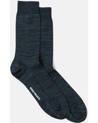 Norse Projects - Bjarki Mercerized Twist Socks - Lyst