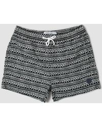 Native Youth - Mono Pattern Swim Shorts - Lyst