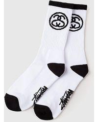 Stussy - Ss-link Premium Socks - Lyst