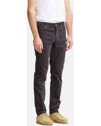 Norse Projects - Edvard Light Corduroy Chino - Lyst