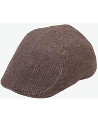 Goorin Bros John Milton Ivy Flat Cap in Brown for Men - Lyst d27c6bb195aa