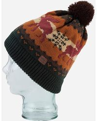 Coal - Robson Bobble Beanie Hat - Lyst