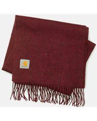 Carhartt - Clan Scarf (wool)- Amarone Red - Lyst