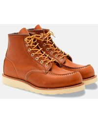 "Red Wing - Heritage Work 6"" Moc Toe Boot - Lyst"