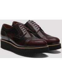 Grenson - Womens Lucy Brogue Shoes - Lyst