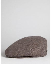 Bailey of Hollywood - Bailey Lord Herringbone Flat Cap - Lyst