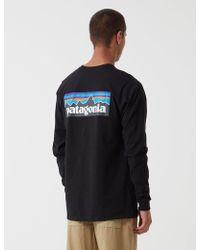 Patagonia - P-6 Logo Short-sleeve Responsibili-t-shirt - Lyst