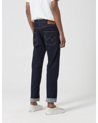Edwin - Ed-55 Cs Red Listed Selvage Jeans (tapered) - Lyst