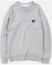 Norse Projects - Ketel Crew Embroidery Logo Sweat - Lyst