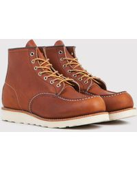 "Red Wing - 875 Heritage Work 6"" Moc Toe Boot - Lyst"