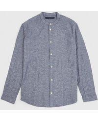 SUIT - Suit Dover Mandarin Shirt - Lyst
